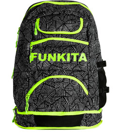Funkita Elite Squad Rugzak, black widow
